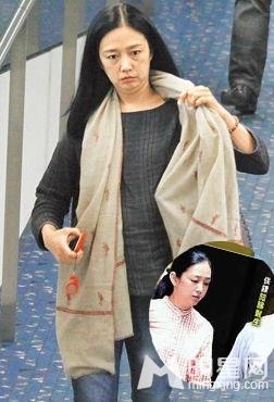 朱丽倩刘德华为儿吃素怀孕挺肚助阵演唱会
